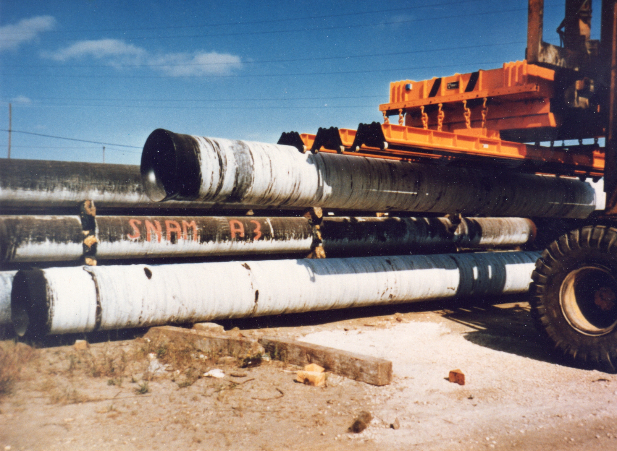 lifting suction pipe with polyurethane seals Reselgit®
